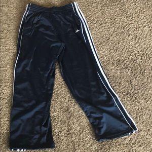 Adidas sweat athletic pants deep navy